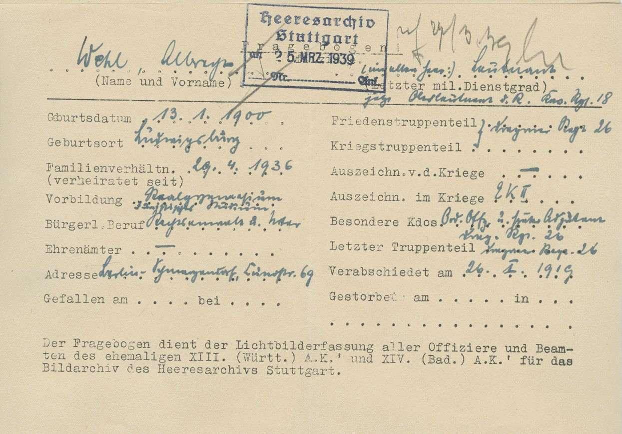 Wehl, Albrecht, Bild 2