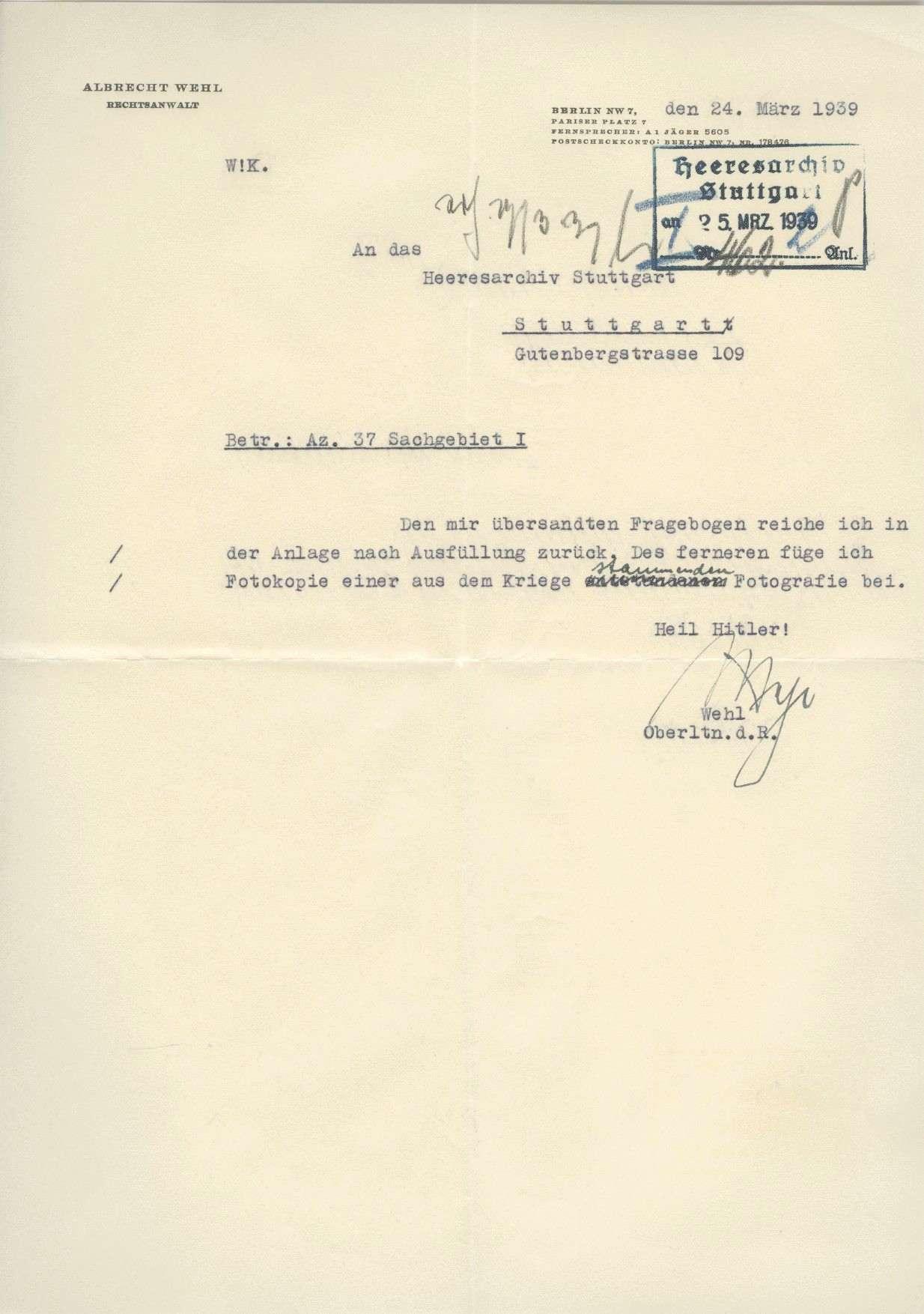 Wehl, Albrecht, Bild 3