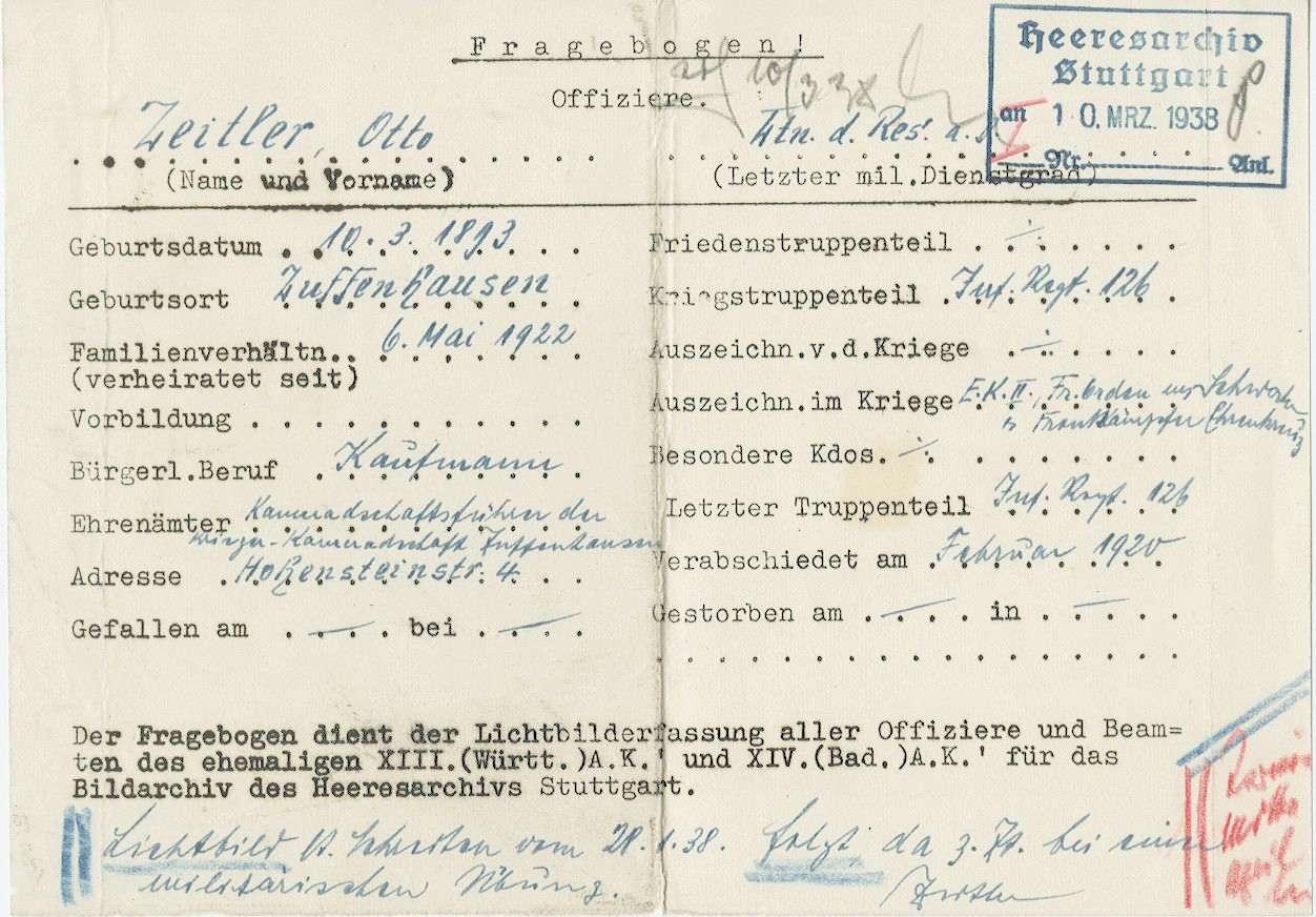Zeitler, Otto, Bild 2