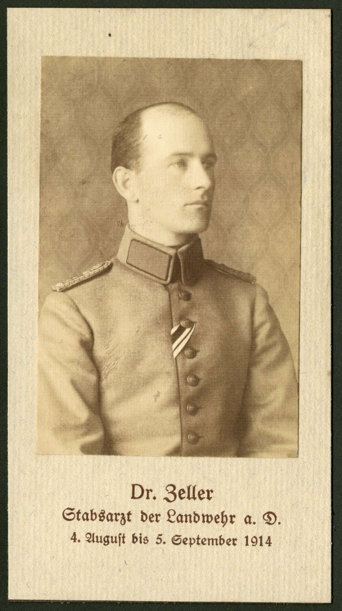 Zeller, Ernst, Dr., Bild 1