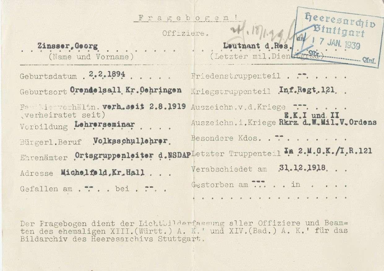 Zinsser, Georg, Bild 2