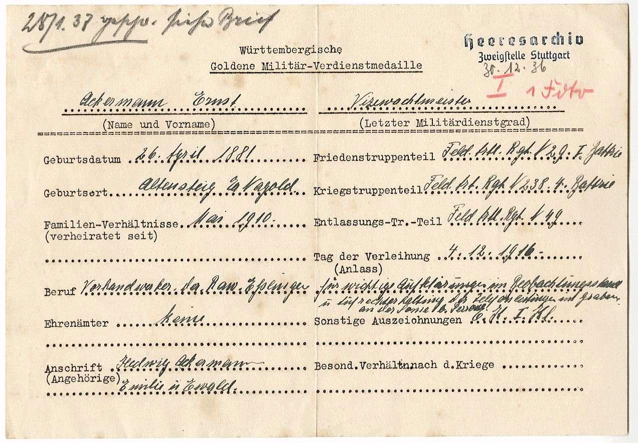 Ackermann, Ernst, Bild 2
