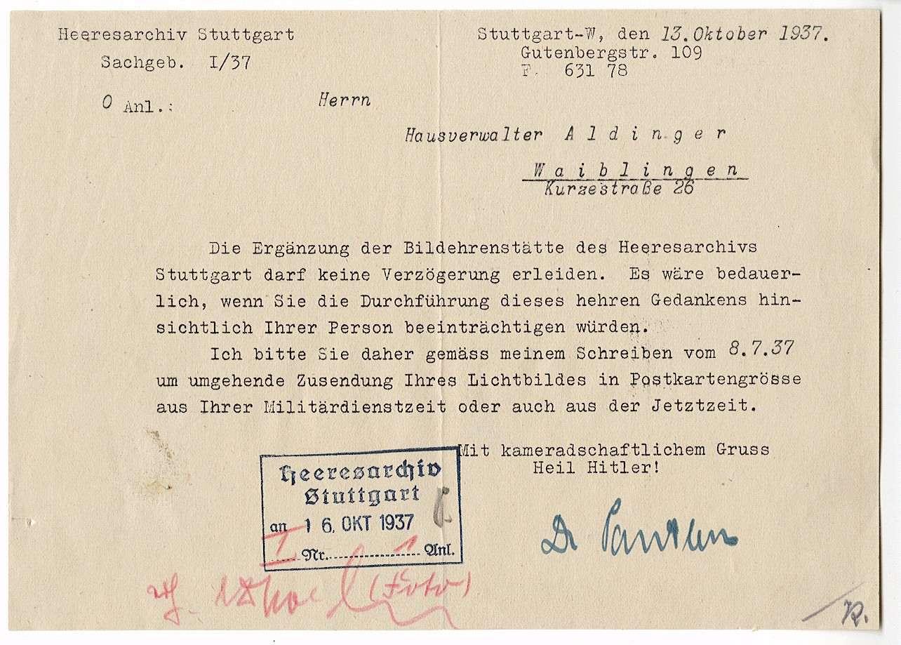 Alber, Gottlob, Bild 3