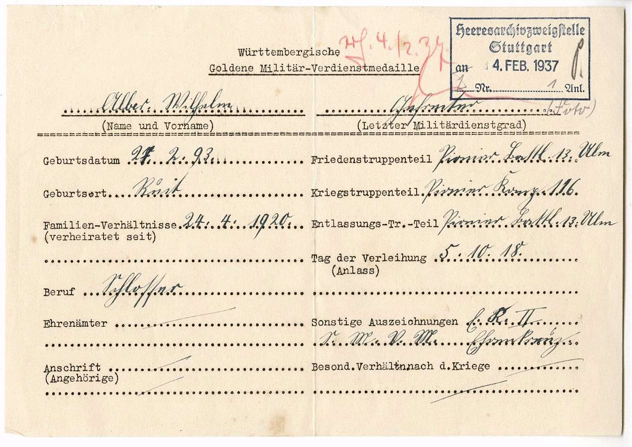 Alber, Wilhelm, Bild 2