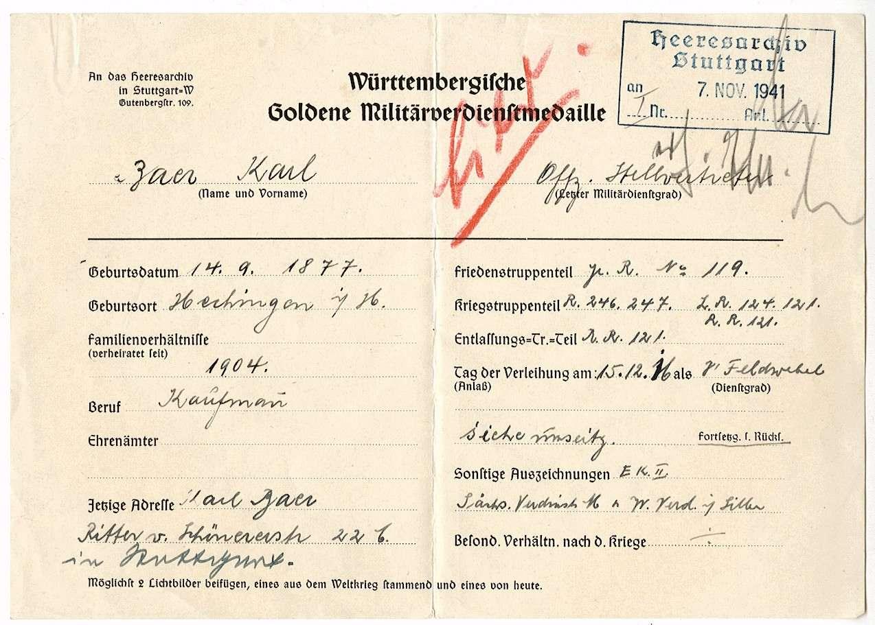 Baer, Karl, Bild 1