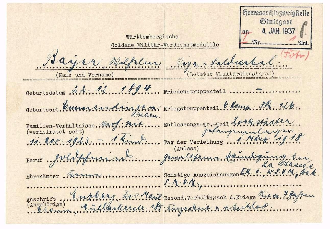 Bayer, Wilhelm, Bild 2