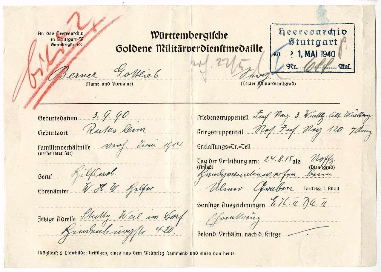 Berner, Gottlieb, Bild 2