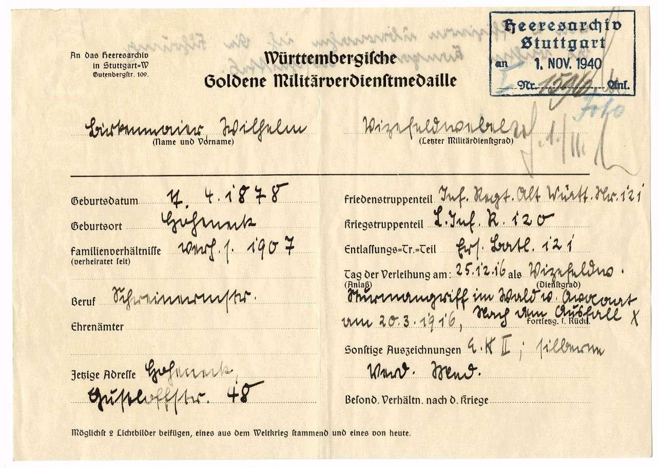 Birkenmaier, Wilhelm, Bild 2
