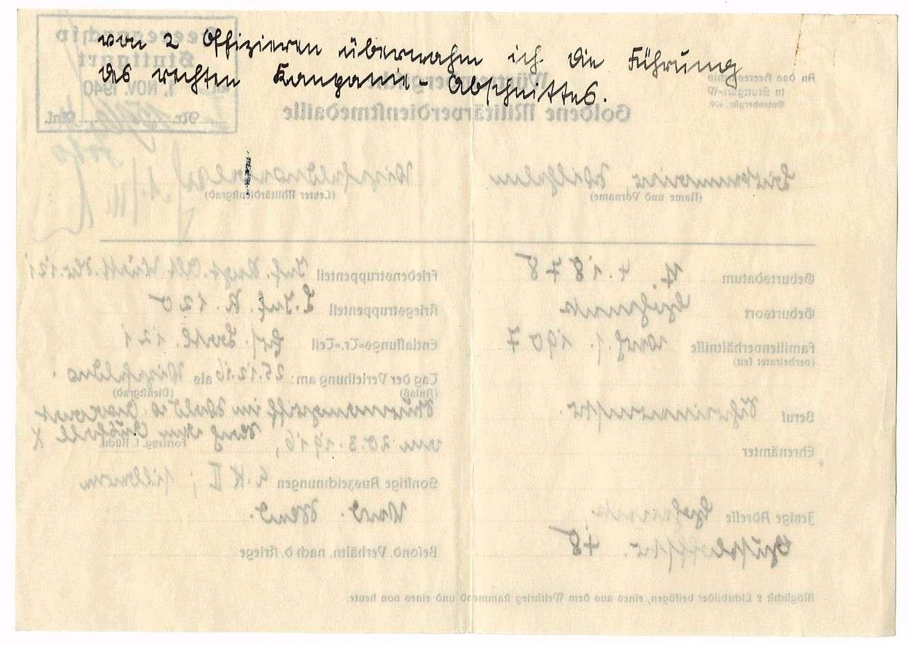 Birkenmaier, Wilhelm, Bild 3
