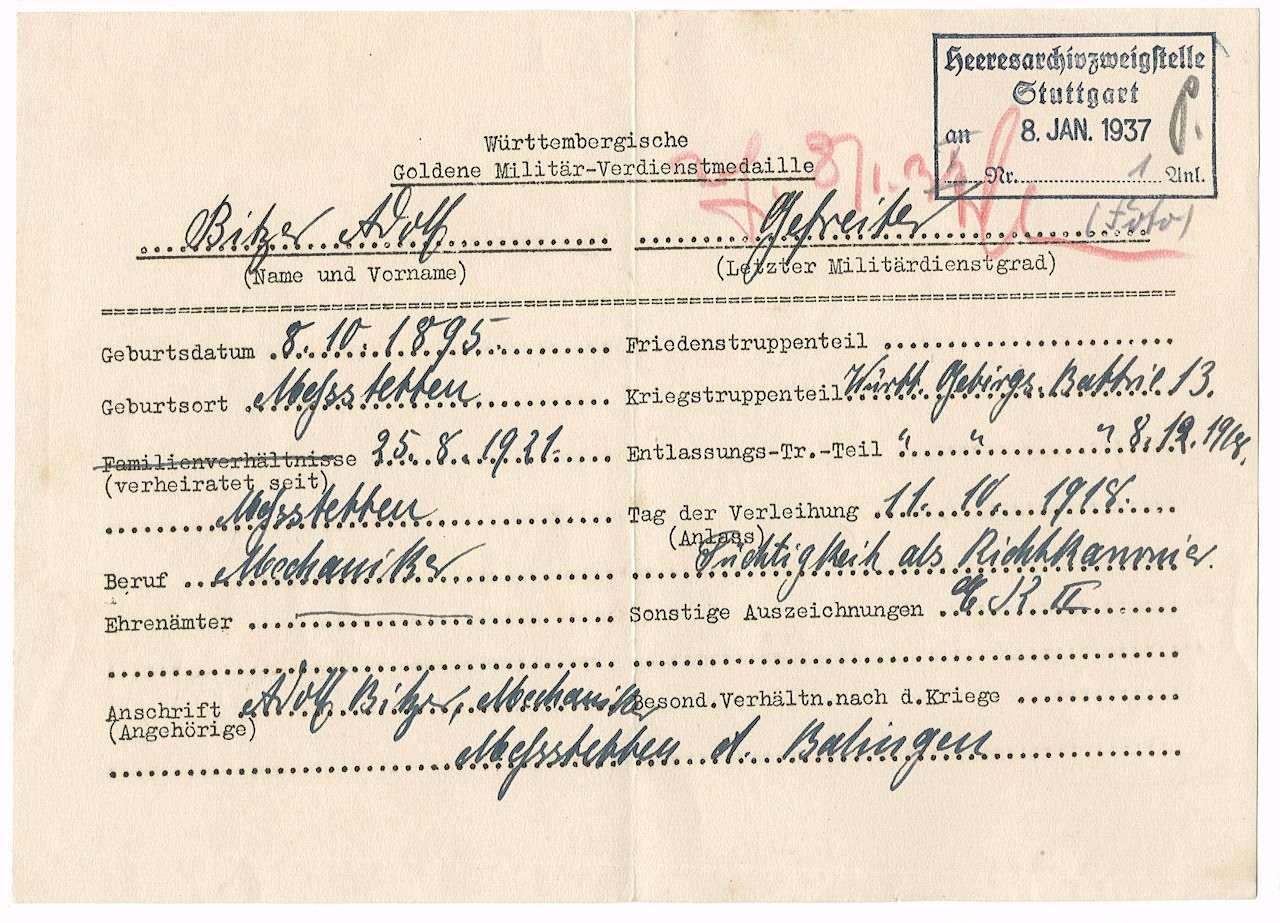 Bitzer, Adolf, Bild 2