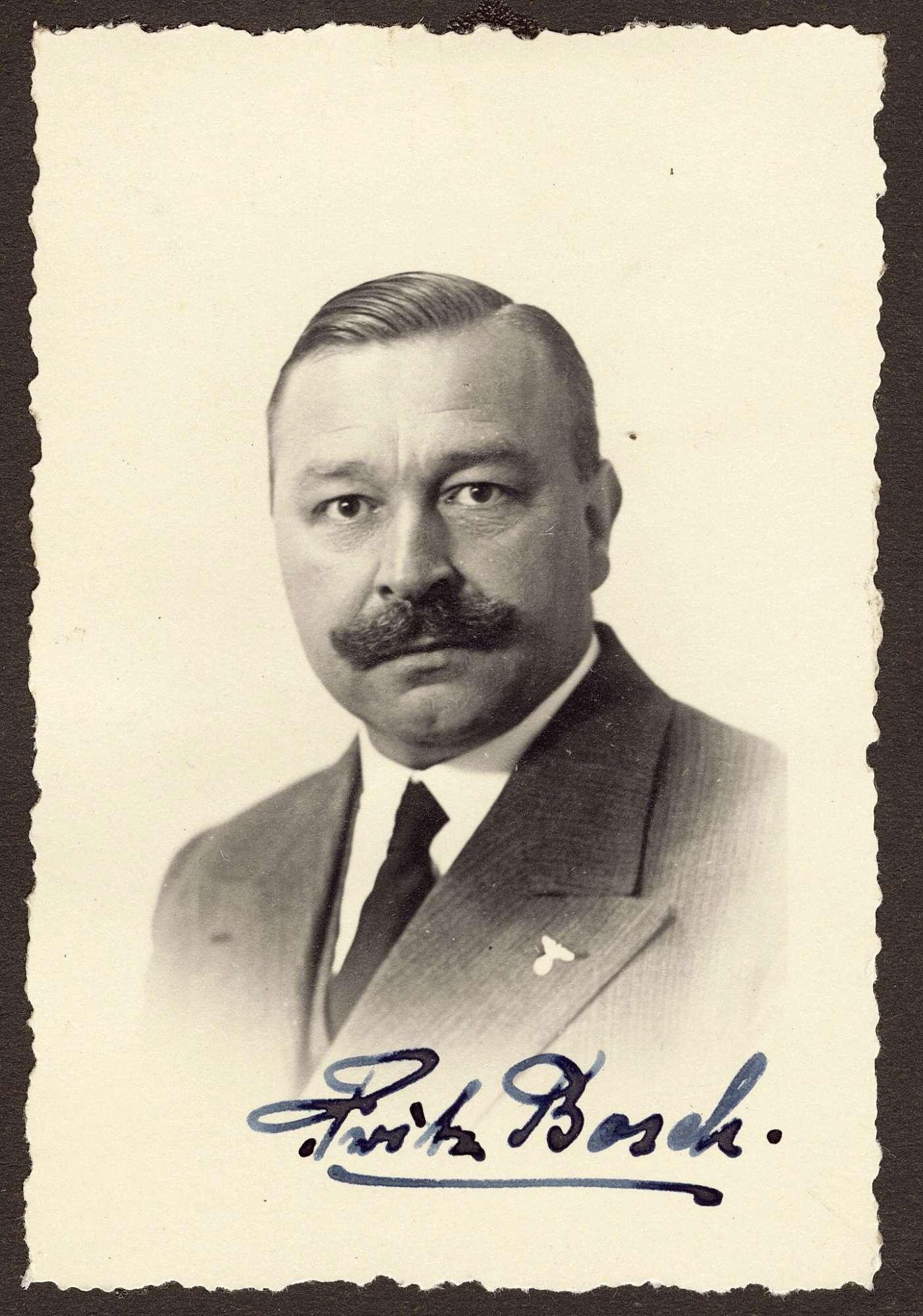 Bosch, Fritz, Bild 1