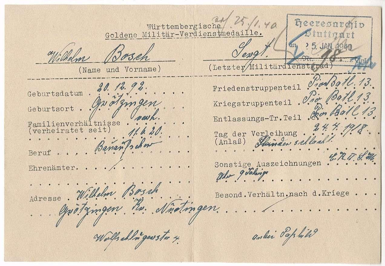 Bosch, Wilhelm, Bild 2