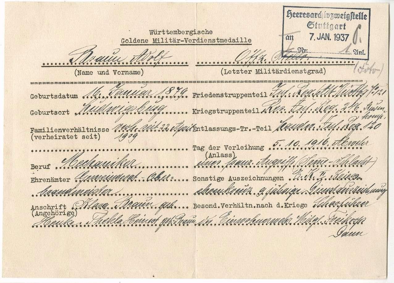 Braun, Adolf, Bild 2