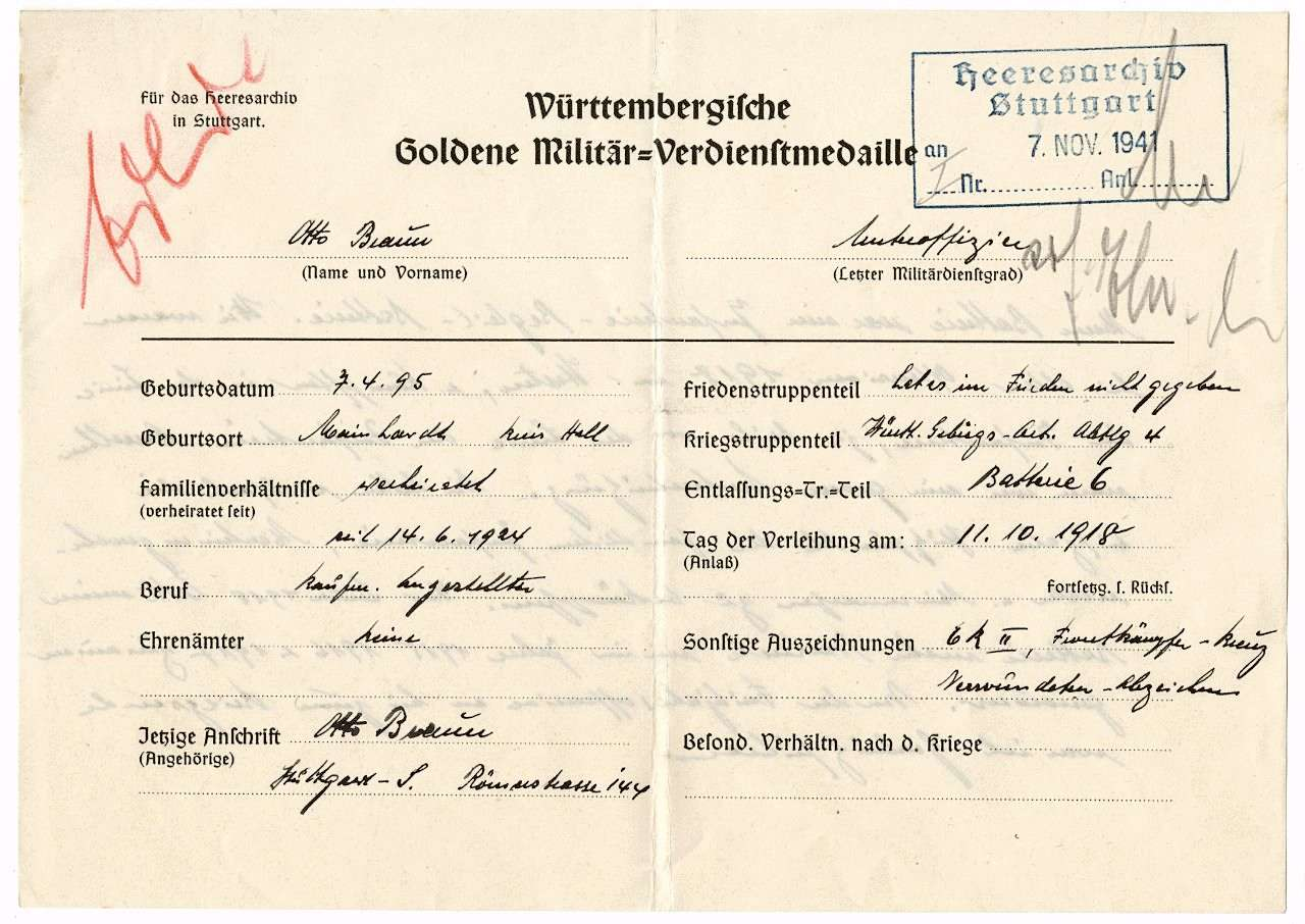Braun, Otto, Bild 1
