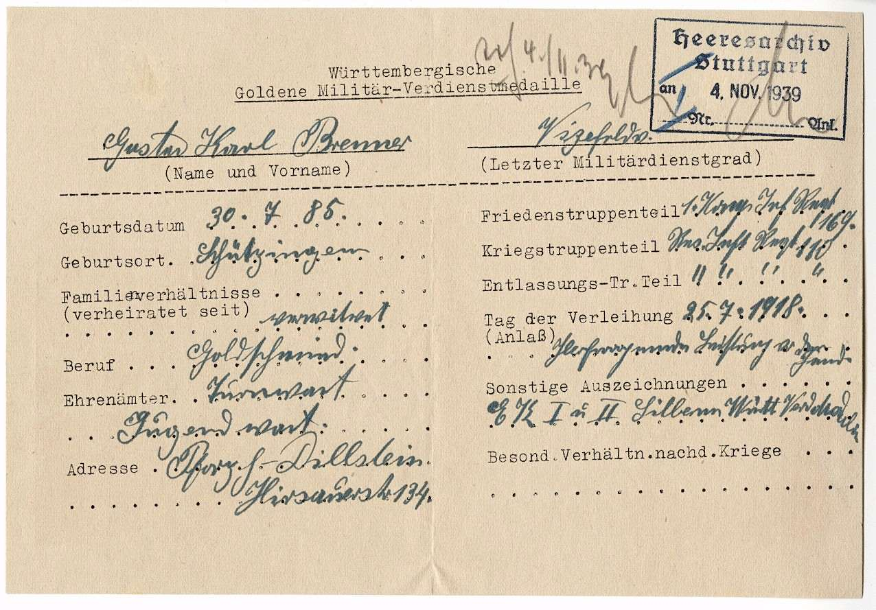 Brenner, Gustav Karl, Bild 2