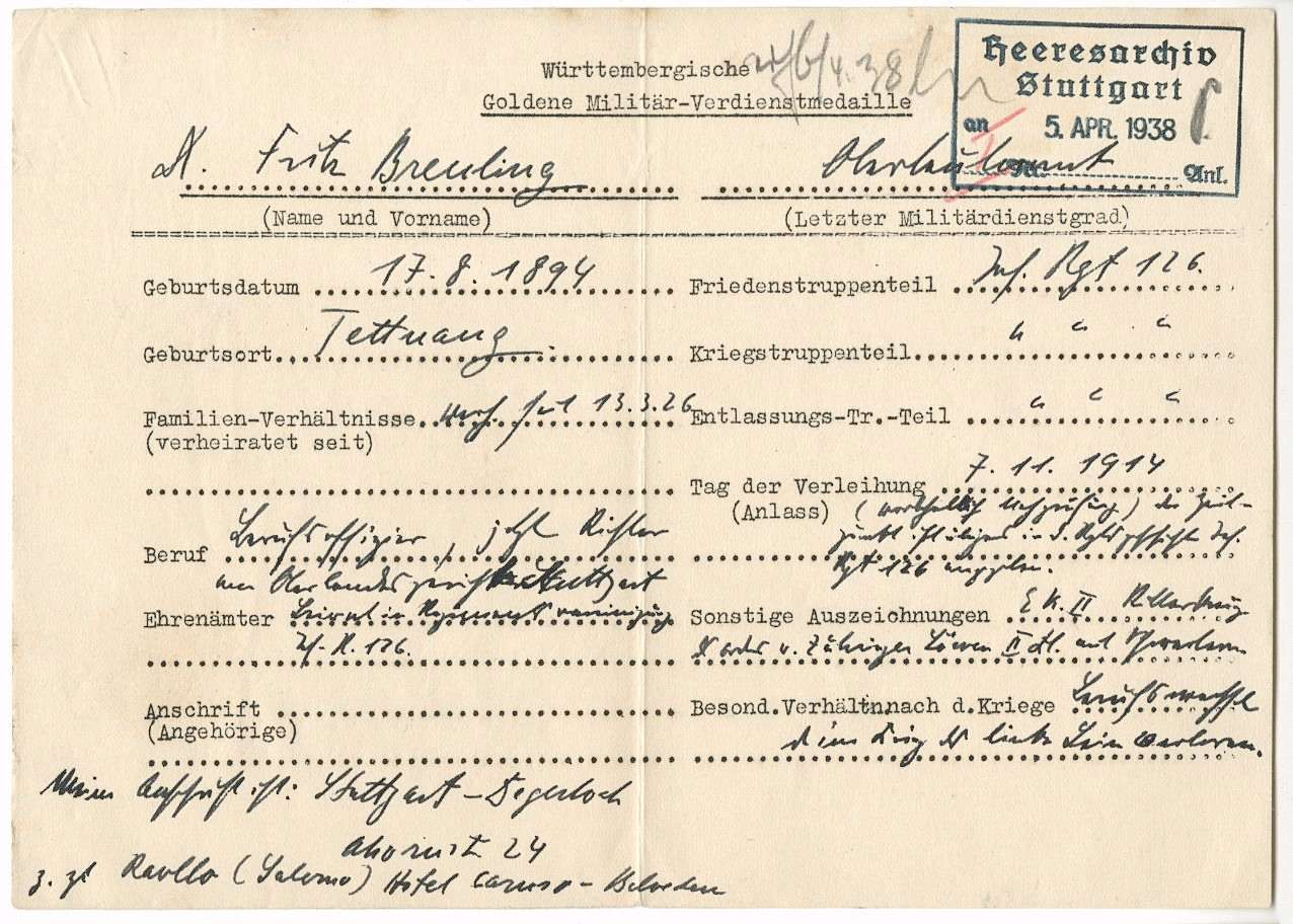 Breuling, Fritz, Dr., Bild 2