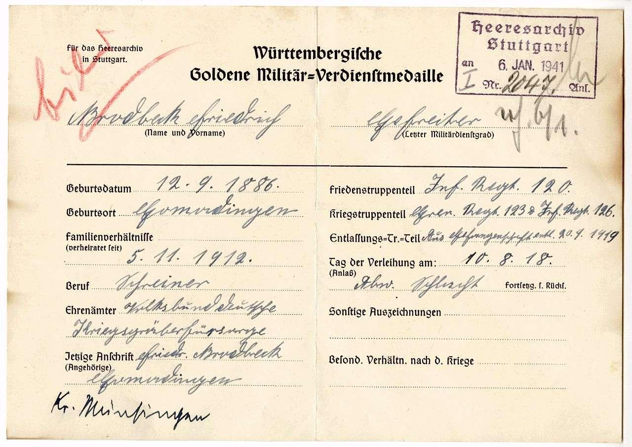 Brodbeck, Friedrich, Bild 1