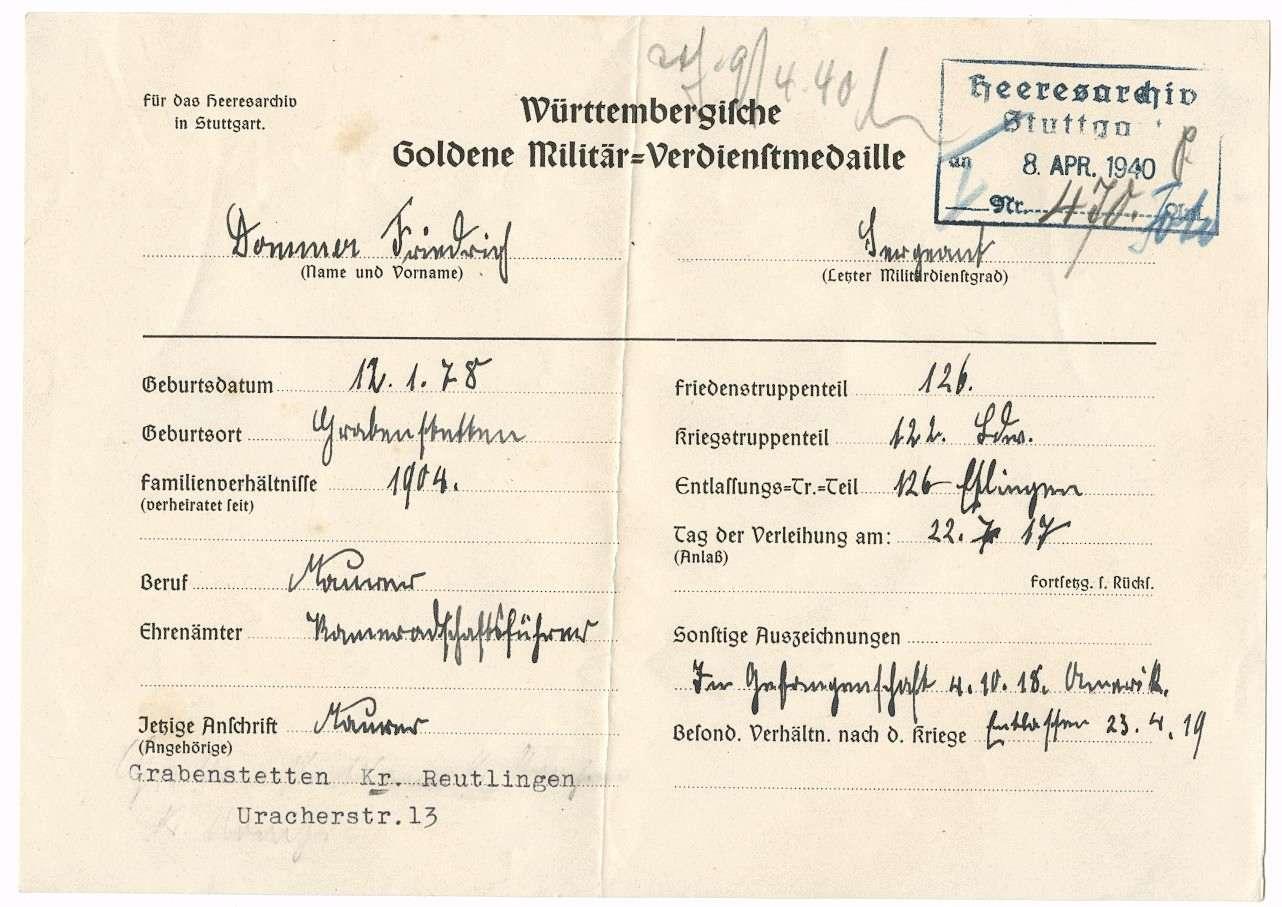 Dommer, Friedrich, Bild 2