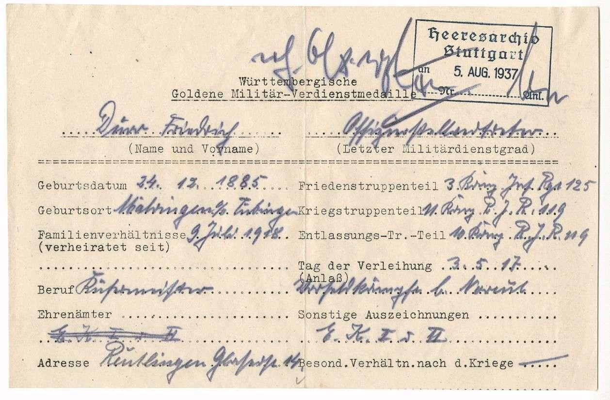 Dürr, Friedrich, Bild 2