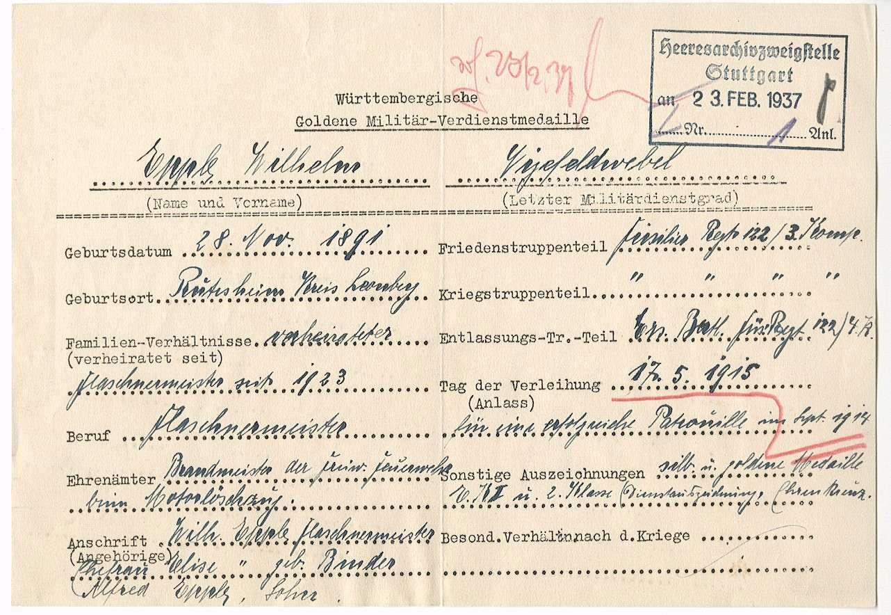 Epple, Wilhelm, Bild 2