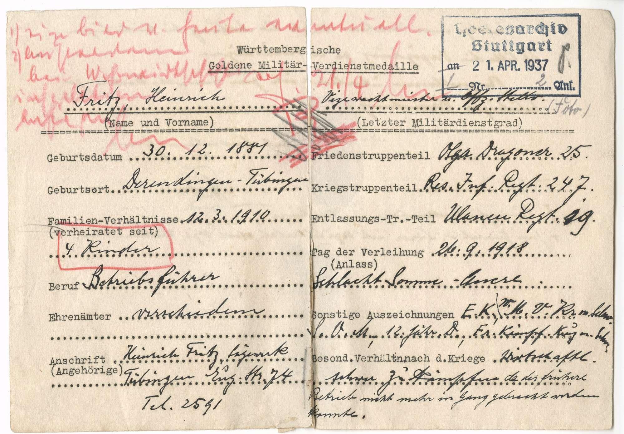 Fritz, Heinrich, Bild 2