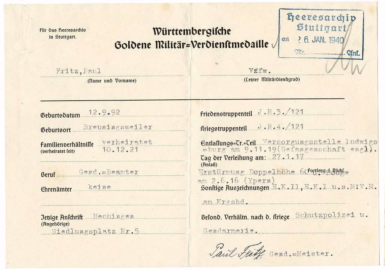Fritz, Paul, Bild 2