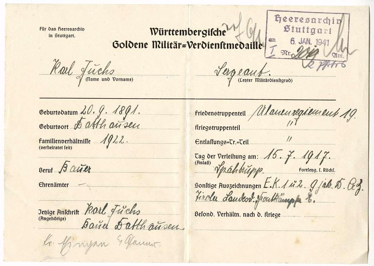 Fuchs, Karl, Bild 3