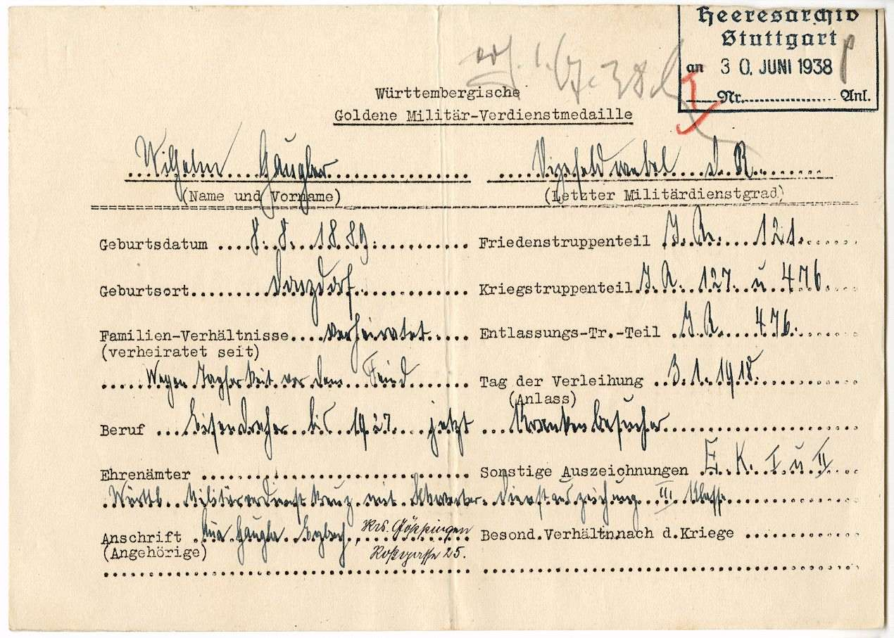 Gaugler, Wilhelm, Bild 1