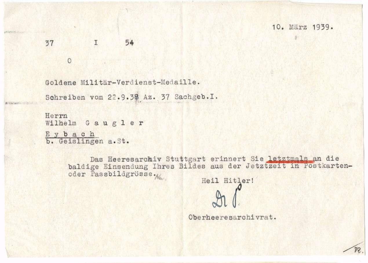 Gaugler, Wilhelm, Bild 2