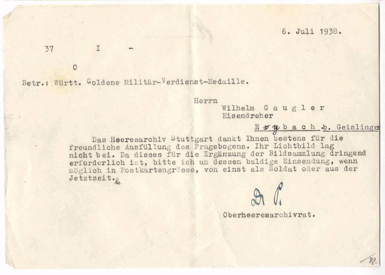 Gaugler, Wilhelm, Bild 3