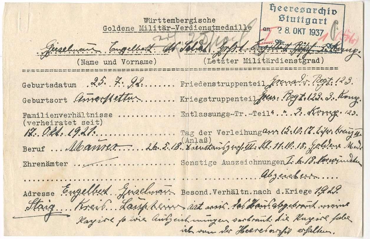 Geiselmann, Engelbert, Bild 2