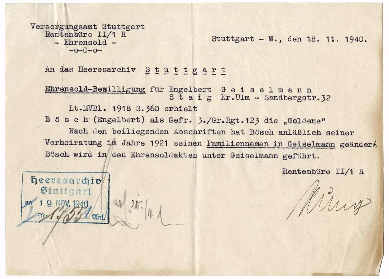Geiselmann, Engelbert, Bild 3