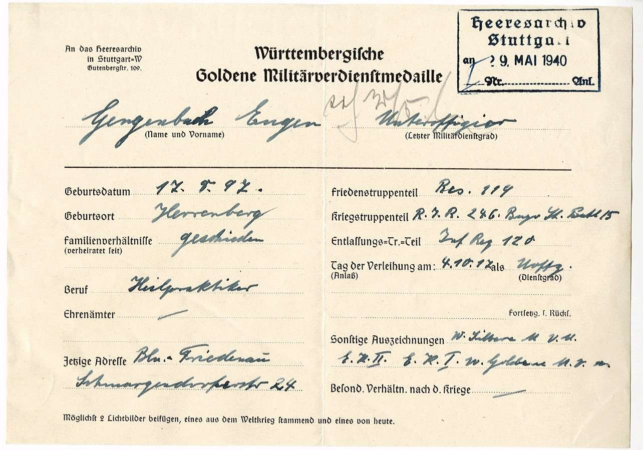 Gengenbach, Eugen, Bild 3
