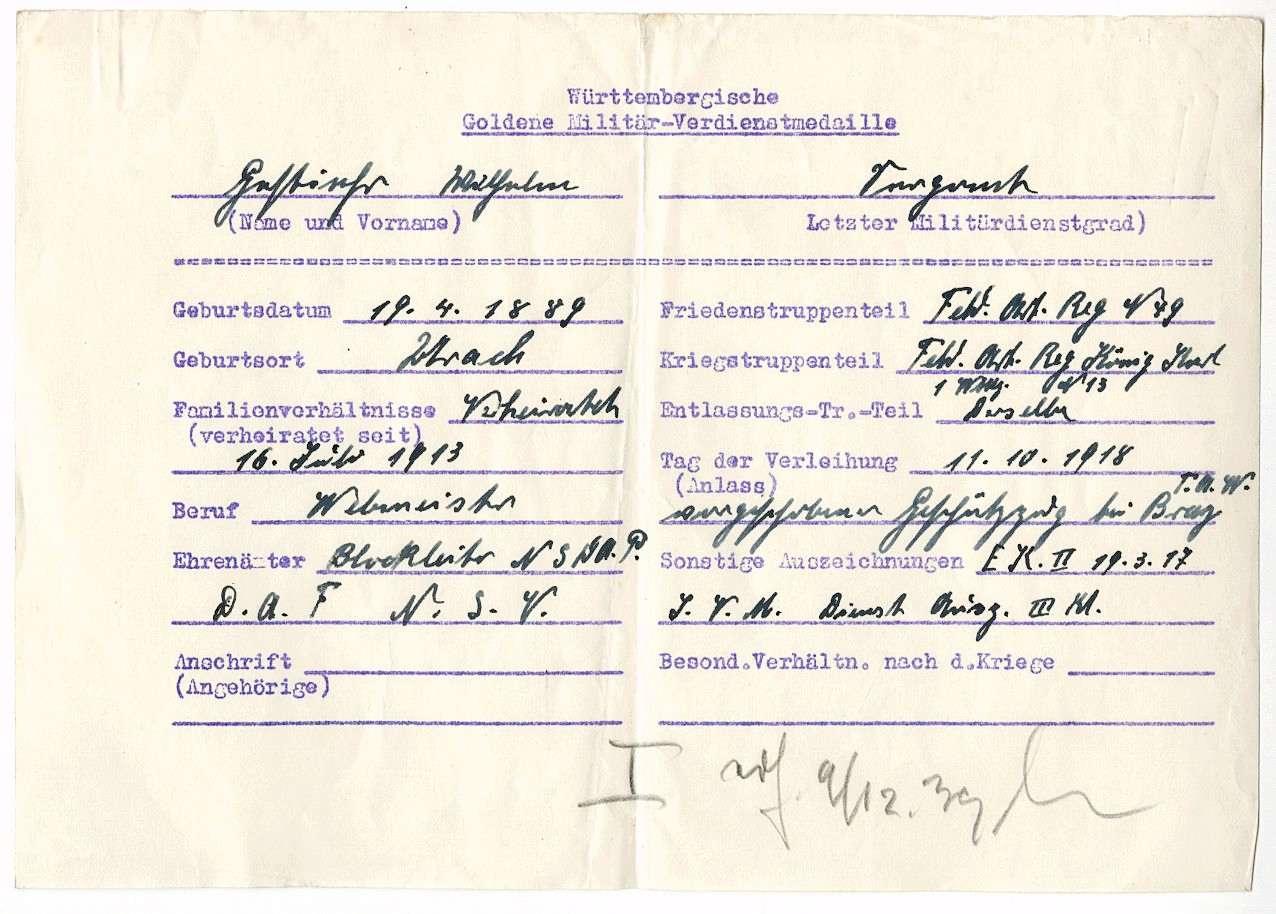 Gestiehr, Wilhelm, Bild 2