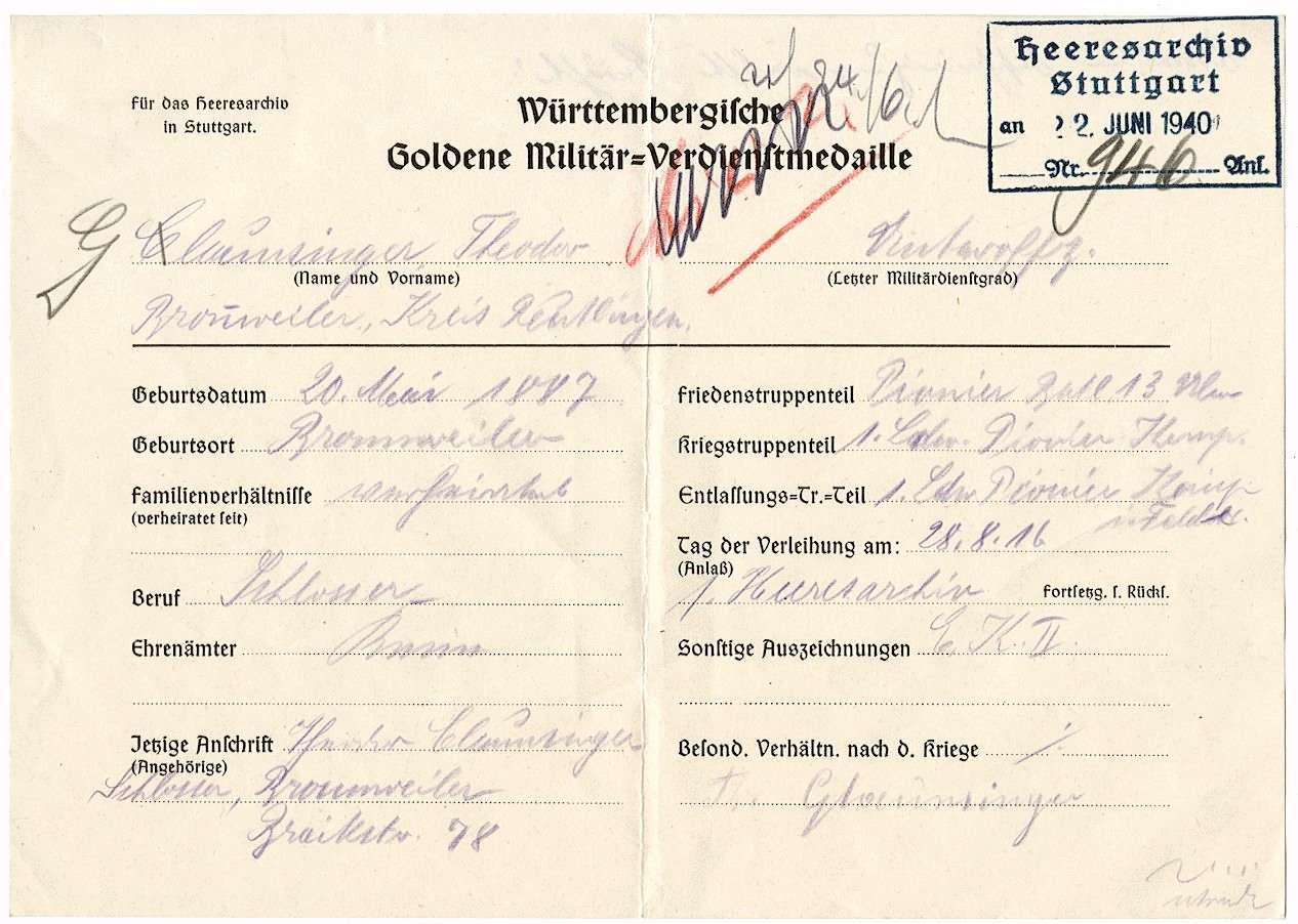 Glaunsinger, Theodor, Bild 2