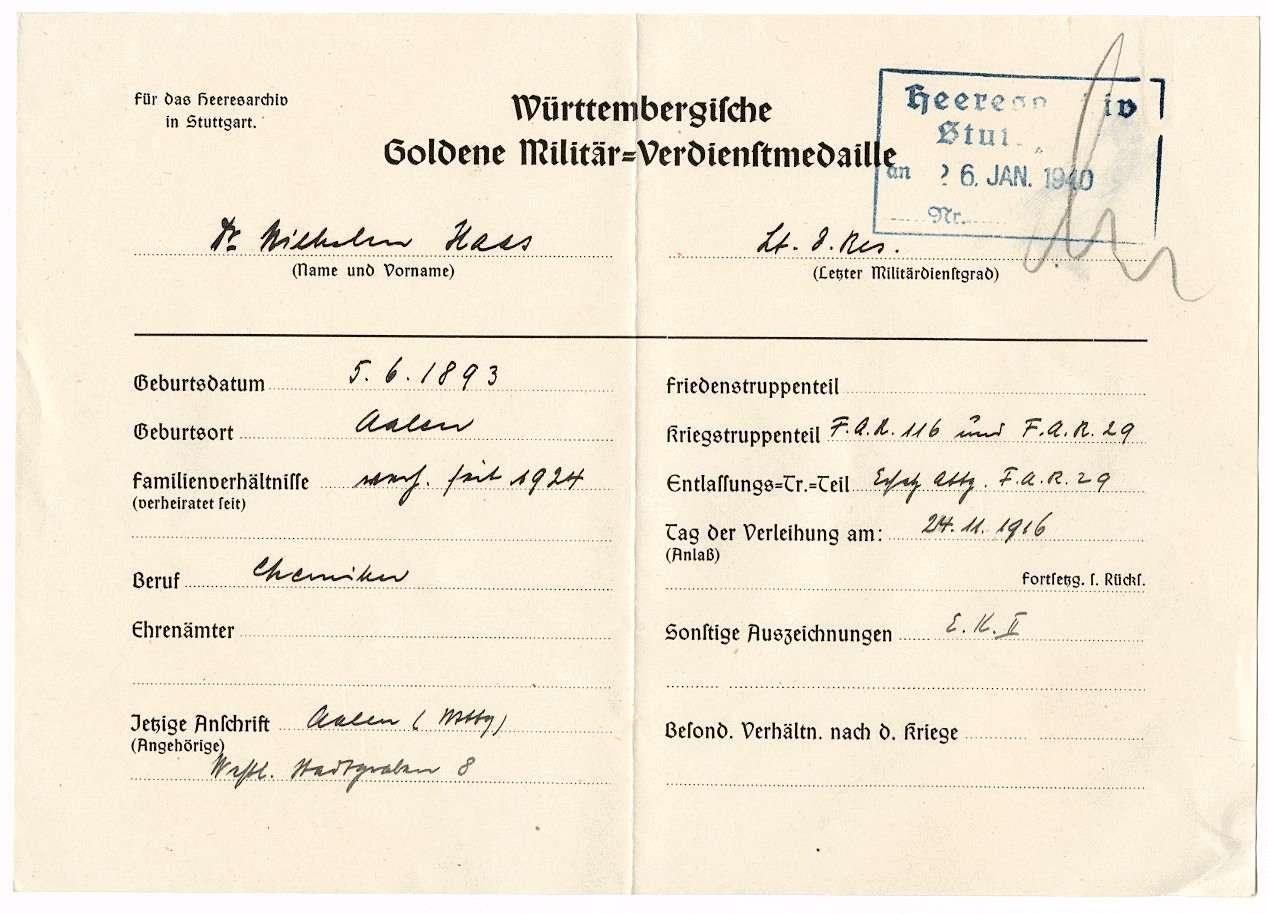 Haas, Wilhelm, Dr., Bild 2