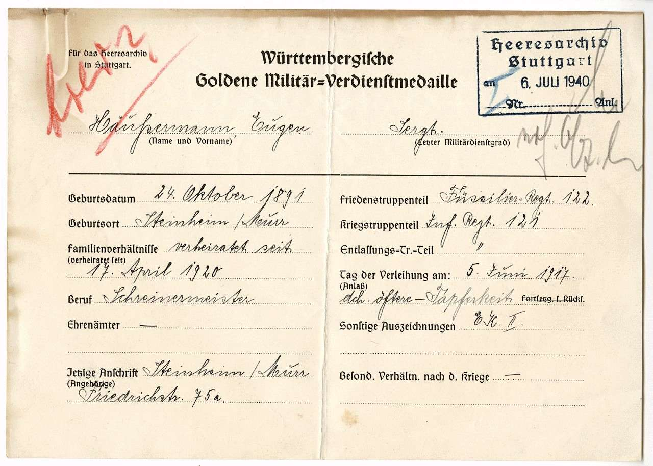Häußermann, Eugen, Bild 1