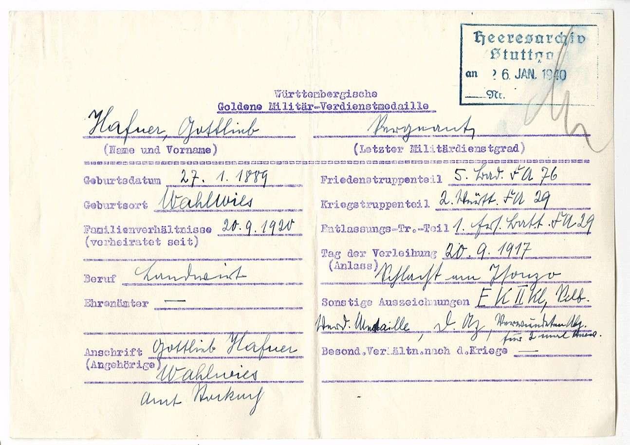 Hafner, Gottlieb, Bild 2