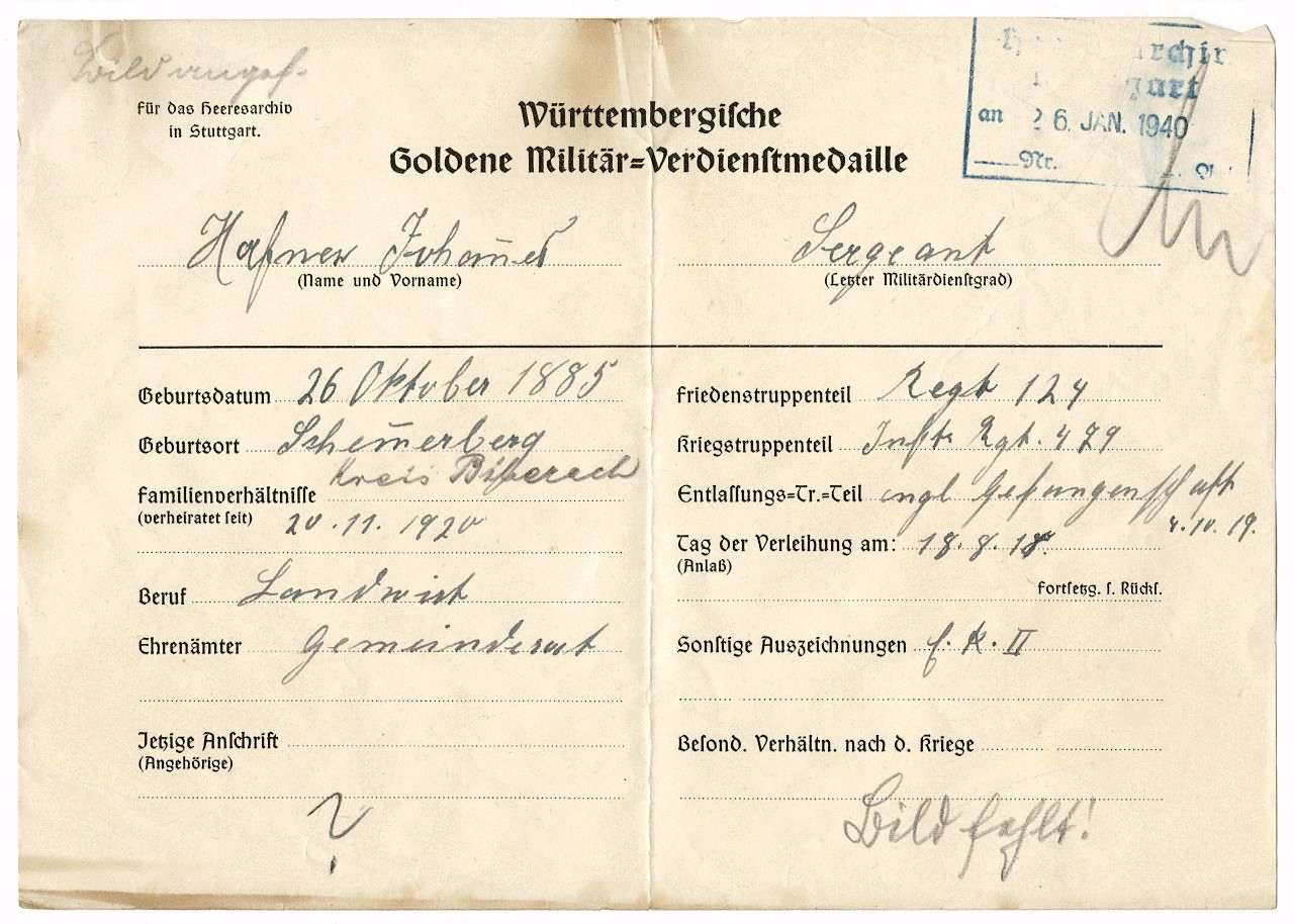 Hafner, ,Johannes, Bild 1