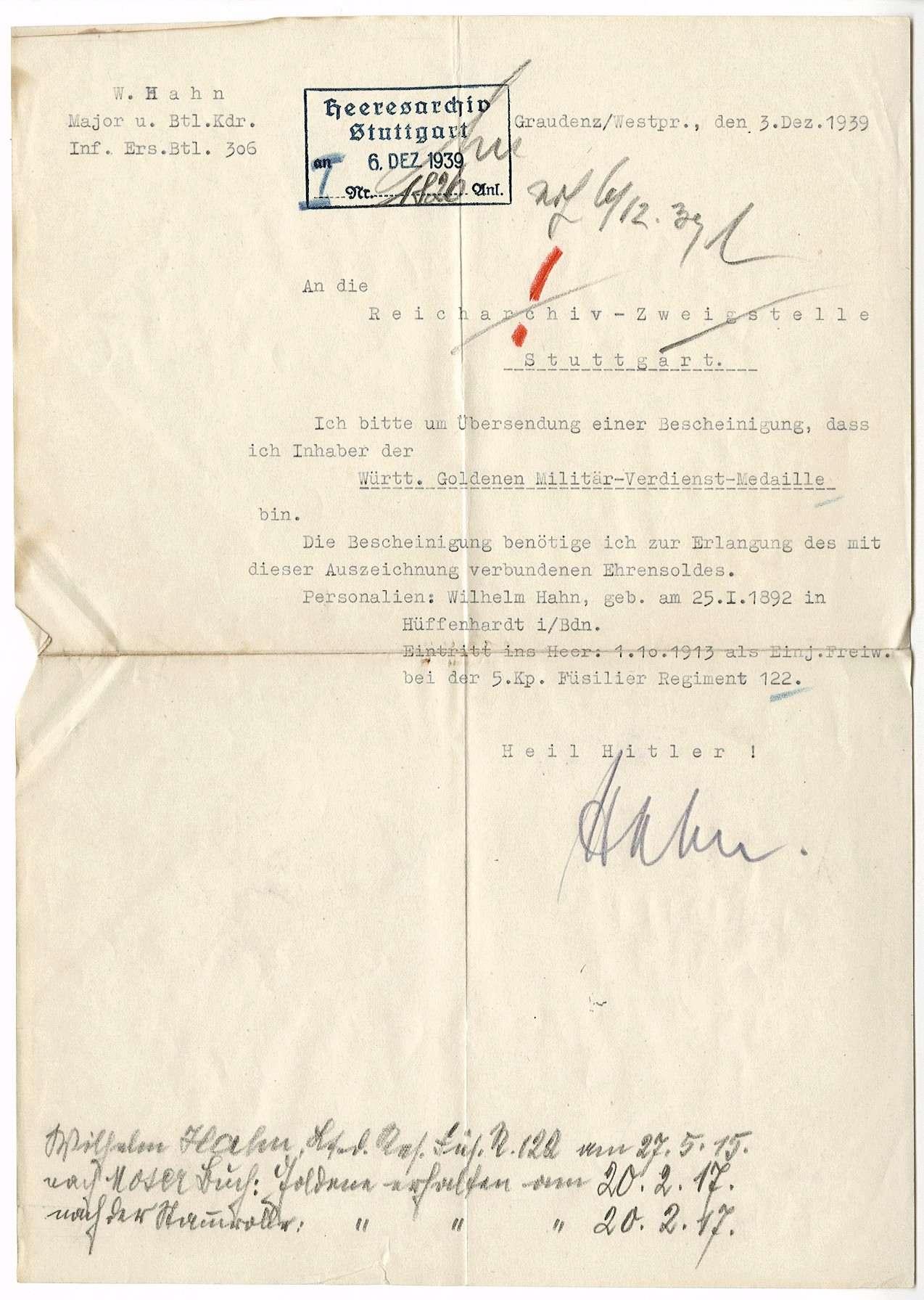 Hahn, Wilhelm, Bild 1