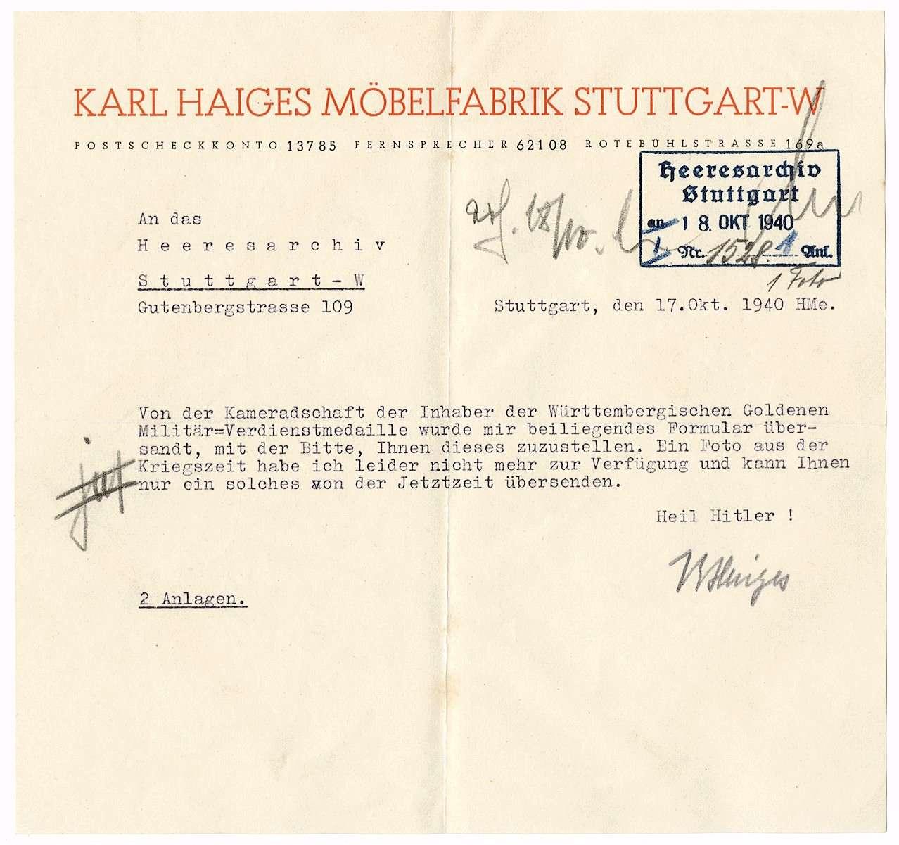 Haiges, Karl, Bild 3