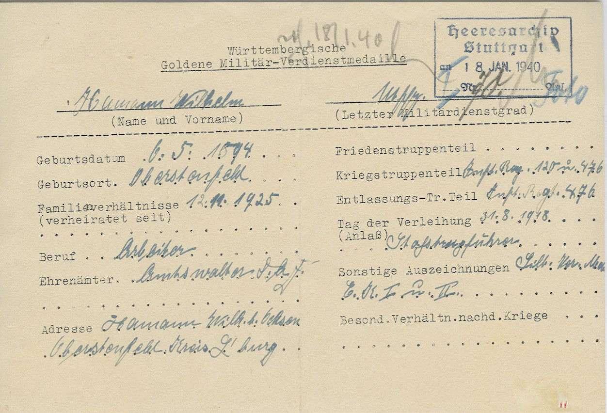 Hamann, Wilhelm, Bild 2
