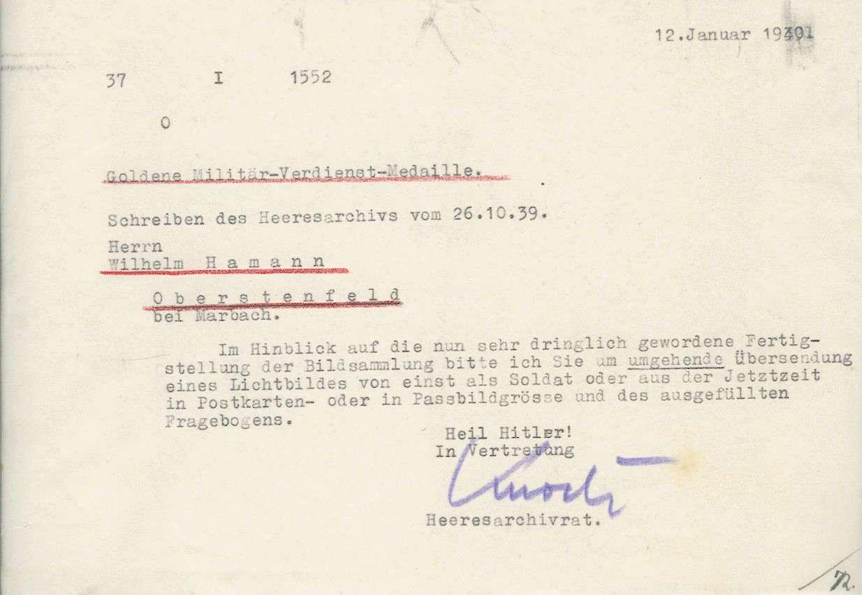 Hamann, Wilhelm, Bild 3