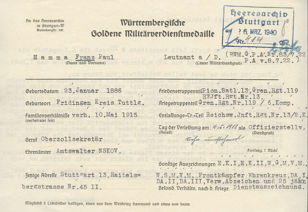 Hamma, Franz Paul, Bild 3