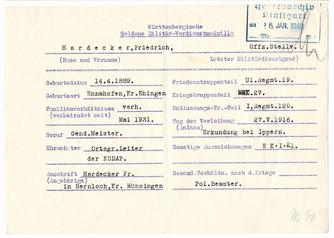 Hardecker, Friedrich, Bild 3