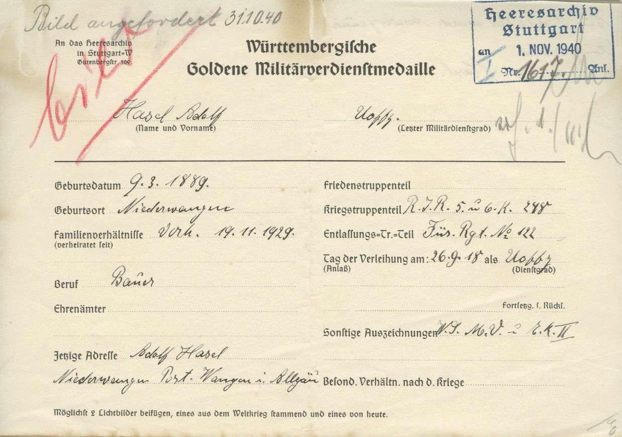 Hasel, Adolf, Bild 2