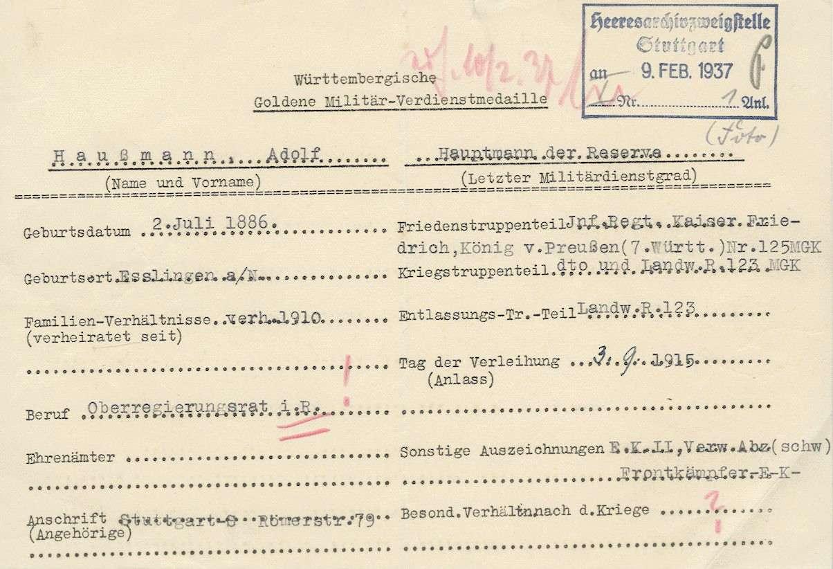 Haußmann, Adolf, Bild 2