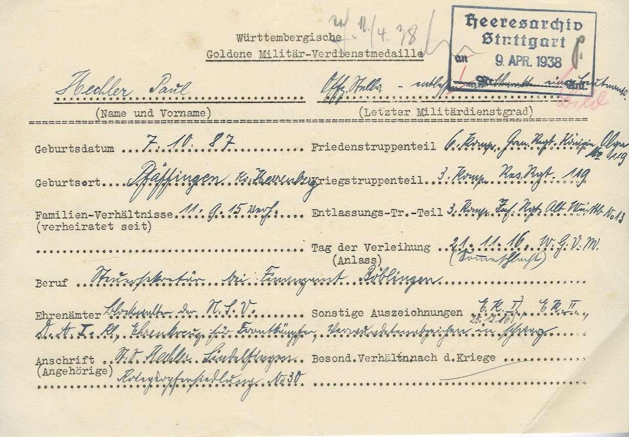 Hechler, Paul, Bild 2