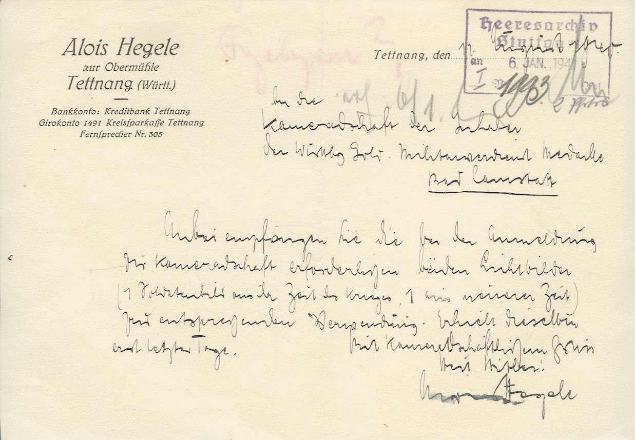 Hegele, Alois, Bild 3