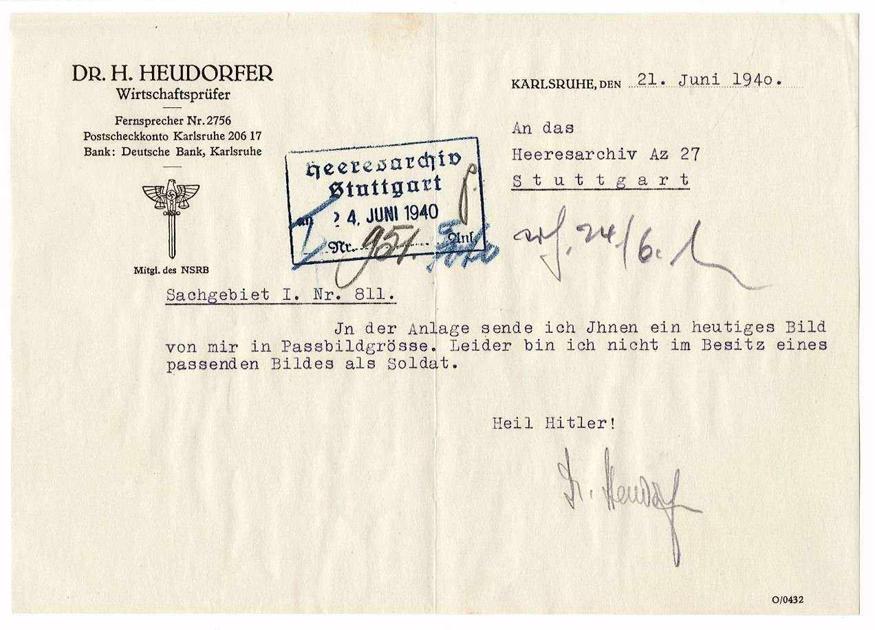 Heudorfer, Hermann, Dr., Bild 3